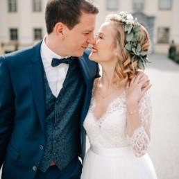 Wedding-Shooting mit Make-Up Artist Brigitte Kelemen, Foto Frau Herz