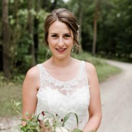 Brautstyling für Fotoshooting zur Hochzeit in Nünberg und München von Make-Up Artist Brigitte Kelemen, fotografiert von Veronika Anna Fotografie