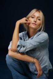 Fotoshooting mit Make-Up von Brigitte Kelemen, Foto Denise Keimig